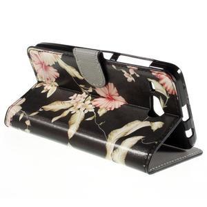 Nice koženkové pouzdro na mobil Acer Liquid Z520 - krásné květiny - 5