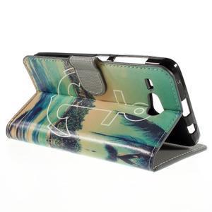Nice koženkové puzdro pre mobil Acer Liquid Z520 - kotva - 5