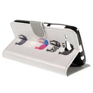 Nice koženkové puzdro pre mobil Acer Liquid Z520 - sloni - 5