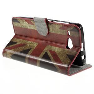 Nice koženkové pouzdro na mobil Acer Liquid Z520 - UK vlajka - 5