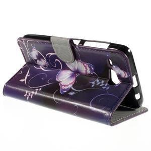 Nice koženkové puzdro pre mobil Acer Liquid Z520 - kouzelní motýľci - 5