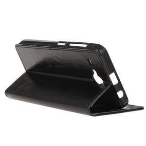 Stanley PU kožené pouzdro na Acer Liquid Z520 - černé - 5