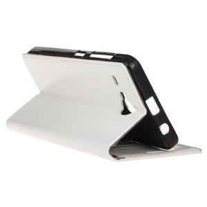 Stanley PU kožené puzdro pre Acer Liquid Z520 - biele - 5