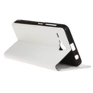 Gregory peňaženkové puzdro pre Acer Liquid Z520 - biele - 5