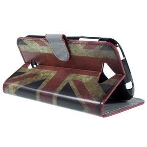 Valet peňaženkové puzdro pre Acer Liquid Z530 - UK vlajka - 5