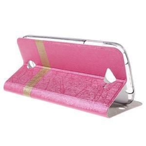 Klopové puzdro pre mobil Acer Liquid Z530 - rose - 5