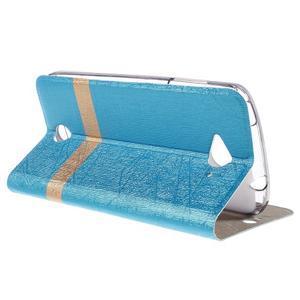 Klopové pouzdro na mobil Acer Liquid Z530 - modré - 5