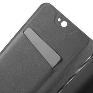 Horse peňaženkové puzdro pre mobil Acer Liquid Z530 - čierné - 5