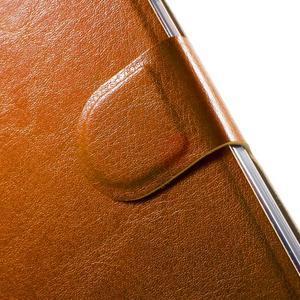Horse peněženkové pouzdro na mobil Acer Liquid Z530 - hnědé - 5