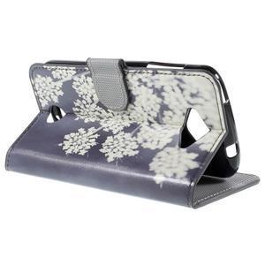 Valet peňaženkové puzdro pre Acer Liquid Z530 - kvitnúce kvetiny - 5