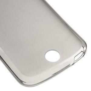 Matný gelový obal na Acer Liquid Z530 - šedý - 5