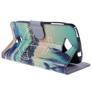 Valet peňaženkové puzdro pre Acer Liquid Z530 - kotva - 5