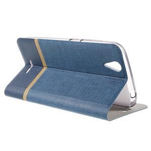 Klopové puzdro pre mobil Acer Liquid Z630 - modré - 5
