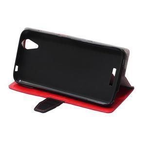 Lines pouzdro na mobil Acer Liquid Z630 - červené - 5