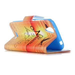 Peňaženkové puzdro pre mobil Acer Liquid Z630 - neprestávaj sniet - 5