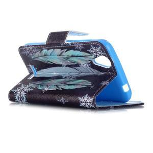 Peněženkové pouzdro na mobil Acer Liquid Z630 - peříčka - 5
