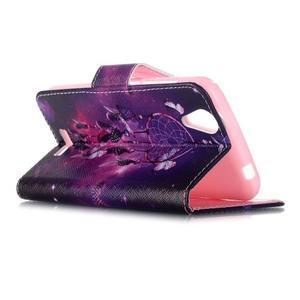Peňaženkové puzdro pre mobil Acer Liquid Z630 - lapač snov - 5