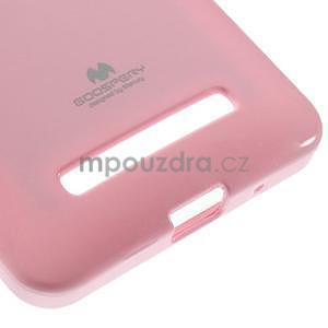 Gélový obal na Asus Zenfone 5 - ružový - 5