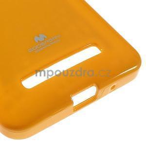 Gélový obal na Asus Zenfone 5 - oranžový - 5