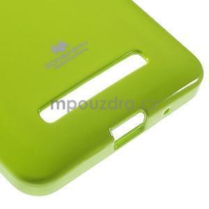 Gélový obal na Asus Zenfone 5 - zelený - 5