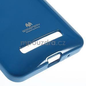 Gélový obal pre Asus Zenfone 5 - modrý - 5