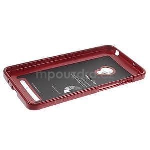Tmavo červený gélový obal pre Asus Zenfone 5 - 5
