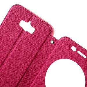 Diary peněženkové pouzdro s okýnkem na Asus Zenfone Max - rose - 5