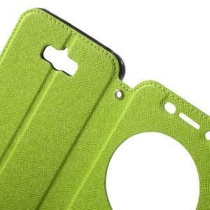 Diary peněženkové pouzdro s okýnkem na Asus Zenfone Max - zelené - 5