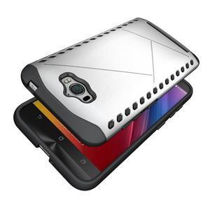 Odolný kryt na mobil Asus Zenfone Max - stříbrný - 5