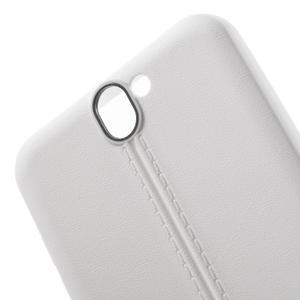 Lines gélové puzdro pre mobil HTC One A9 -  biele - 5