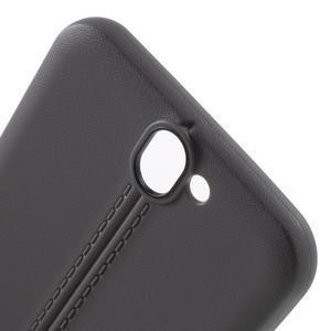 Lines gélové puzdro na mobil HTC One A9 -  šedé - 5