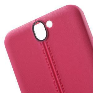 Lines gélové puzdro pre mobil HTC One A9 -  rose - 5