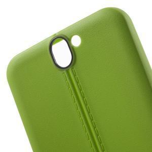 Lines gélové puzdro na mobil HTC One A9 - zelené - 5