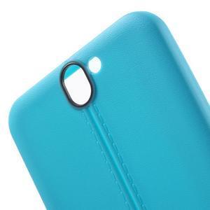 Lines gélové puzdro na mobil HTC One A9 -  modré - 5