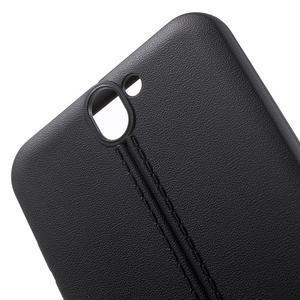 Lines gélové puzdro pre mobil HTC One A9 -  čierne - 5