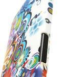 Plastový kryt pre HTC One M7 - kvety - 5/5