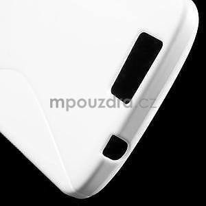 Gélový kryt S-line Huawei Ascend G7 - biely - 5