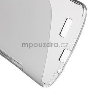 Gélový kryt S-line Huawei Ascend G7 - sivý - 5