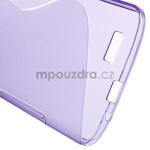 Gélový kryt S-line Huawei Ascend G7 - fialový - 5