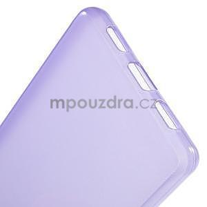 Lesklý gelový kryt na Huawei Ascend P8 Lite - fialový - 5