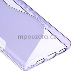 Fialový S-line gelový obal na Huawei Ascend P8 Lite - 5