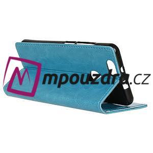 Sean peňaženkové puzdro na mobil Huawei Nova - modré - 5