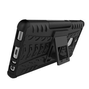 Outdoor ochranný kryt na mobil Huawei P9 - oranžové - 5