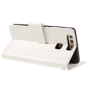 Crossy peněženkové pouzdro na Huawei P9 - bílé - 5