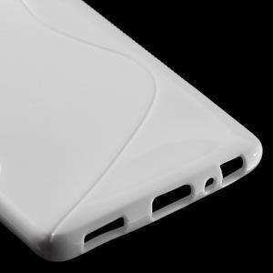 S-line gelový obal na mobil Huawei P9 - bílý - 5