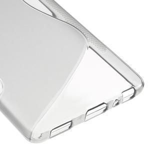 S-line gélový obal pre mobil Huawei P9 - sivý - 5