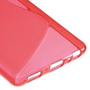 S-line gelový obal na mobil Huawei P9 - červený - 5