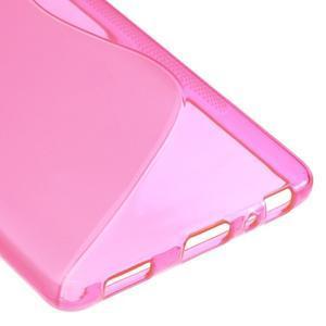 S-line gelový obal na mobil Huawei P9 - rose - 5