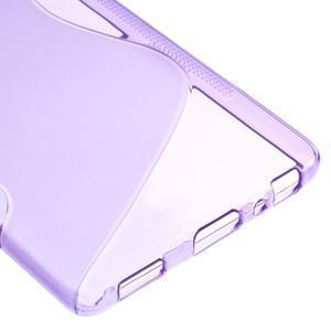S-line gelový obal na mobil Huawei P9 - fialový - 5