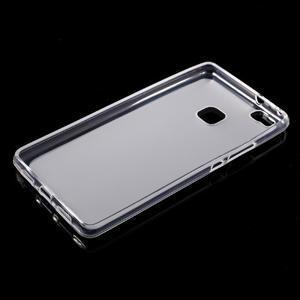 Matný gélový obal pre mobil Huawei P9 lite - transparentné - 5